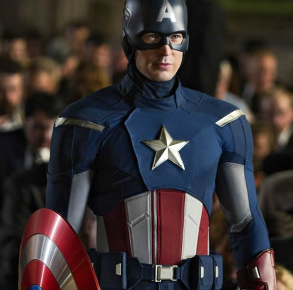 Chris Evans Captain America The Avengers