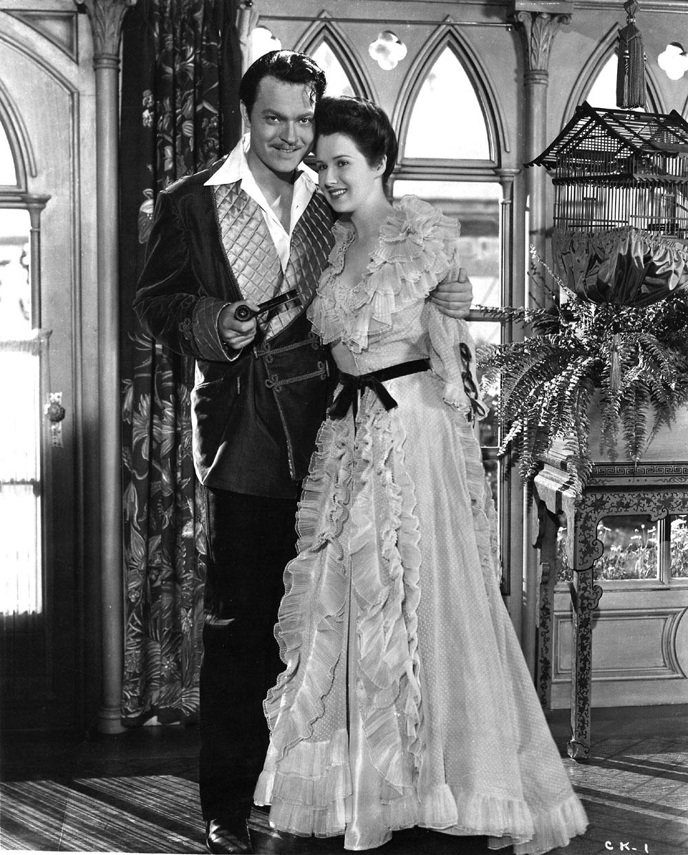 Orson Welles, Ruth Warrick in Citizen Kane