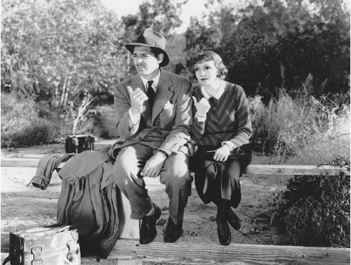 Clark Gable, Claudette Colbert, It Happened One Night