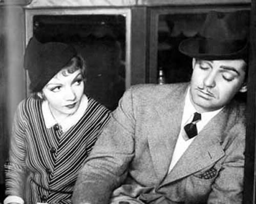 Claudette Colbert, Clark Gable, It Happened One Night, Frank Capra