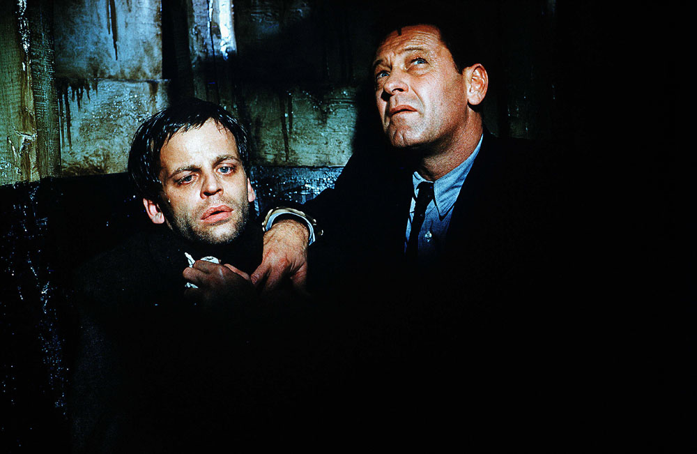 William Holden, Klaus Kinski in The Counterfeit Traitor