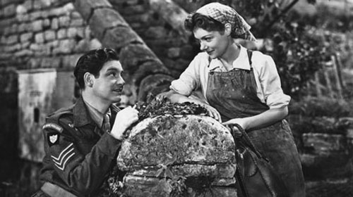 Robert Donat, Renee Asherson in The Cure for Love
