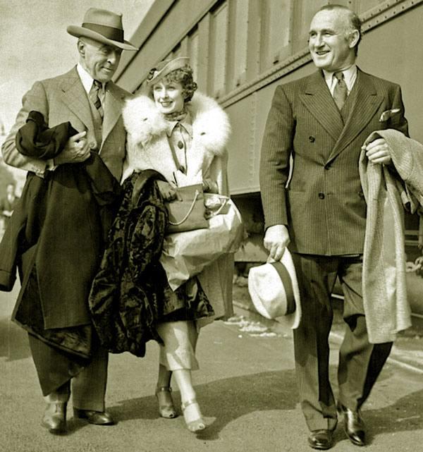 D.W. Griffith Donald Crisp Evelyn Baldwin
