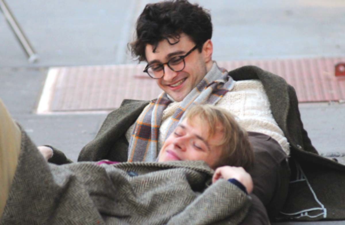 Daniel Radcliffe talks Kill Your Darlings gay sex scene with Dane DeHaan