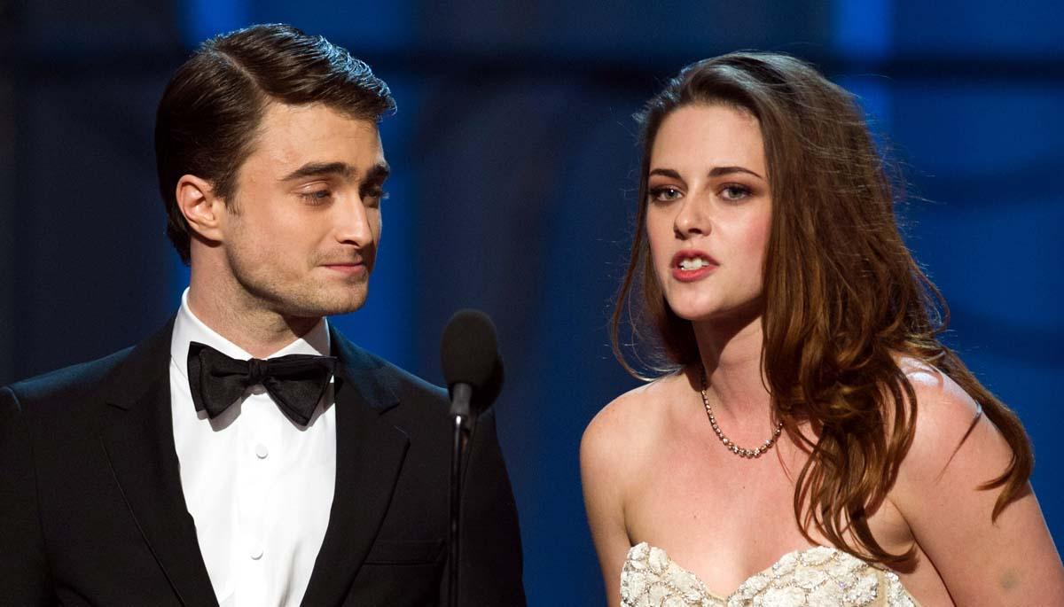 Daniel Radcliffe Kristen Stewart Oscar 2013
