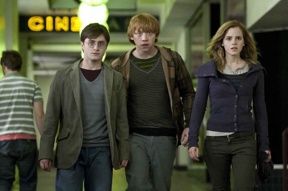 Daniel Radcliffe, Rupert Grint, Emma Watson, Harry Potter and the Deathly Hallows: Part 1