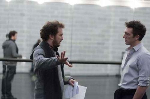 Darren Aronofsky, Vincent Cassel, Black Swan