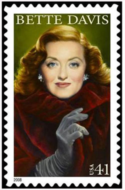 Bette Davis Stamp