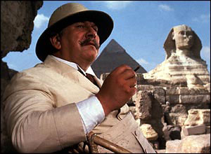 Peter Ustinov in Death on the Nile