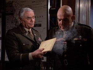 Ernest Borgnine, Telly Savalas in The Dirty Dozen