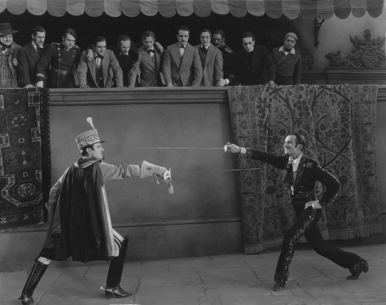 Douglas Fairbanks in Don Q. Son of Zorro