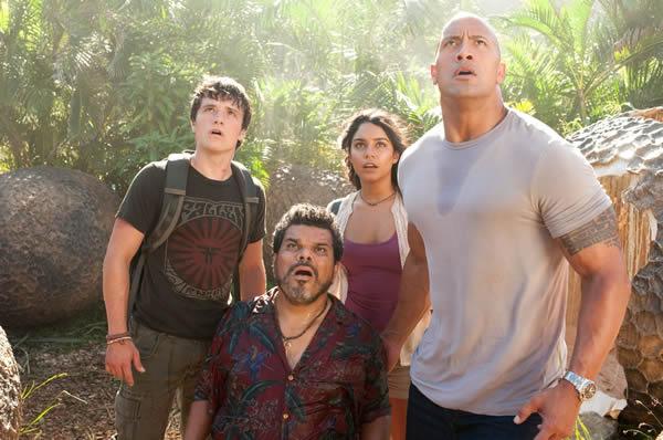 Dwayne Johnson Journey 2: The Mysterious Island Josh Hutcherson Vanessa Hudgens Luis Guzmán