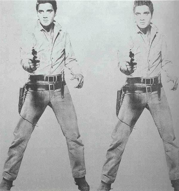 Elvis Presley Double Elvis Ferus Type
