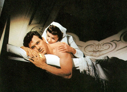 Rock Hudson, Jennifer Jones in A Farewell to Arms