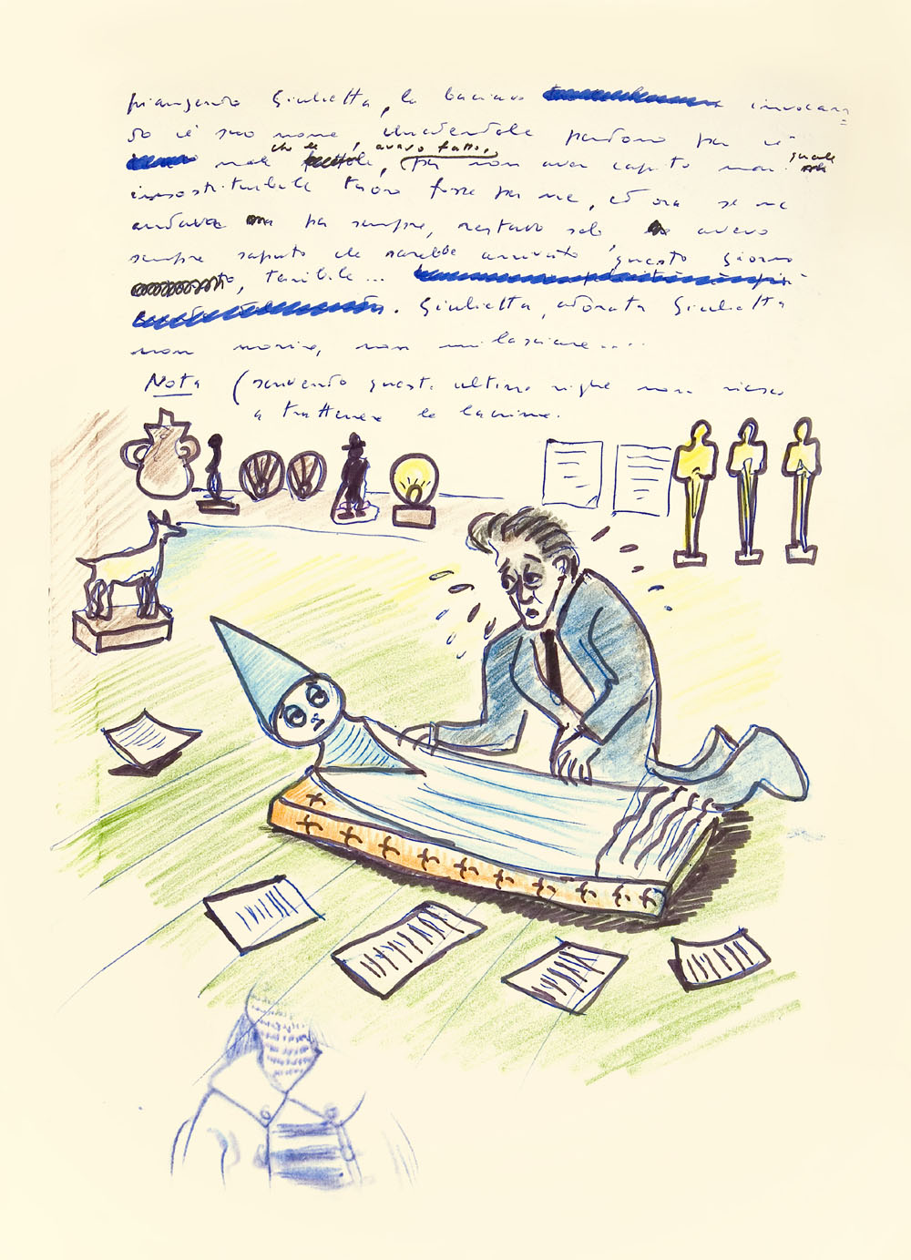 Federico Fellini's Book of Dreams