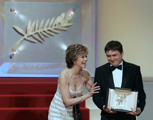 Jane Fonda, Cristian Mungiu at Cannes 07