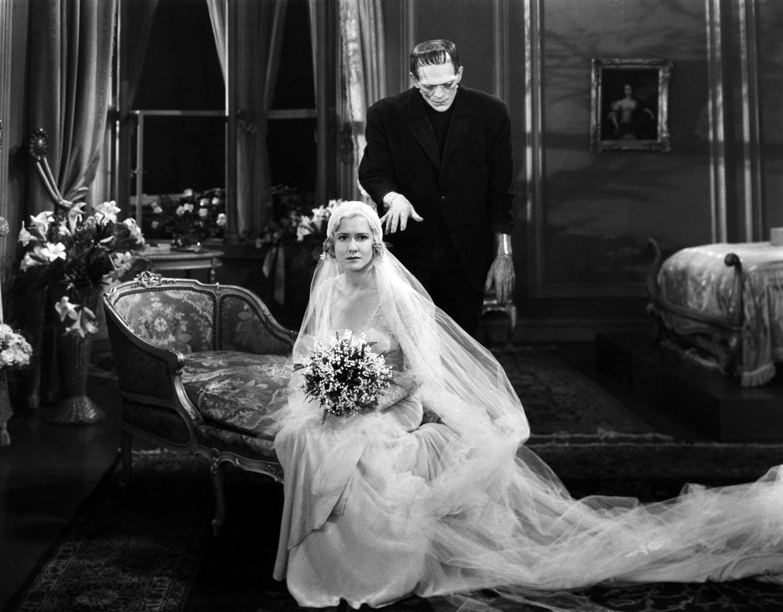 Mae Clarke, Boris Karloff in Frankenstein