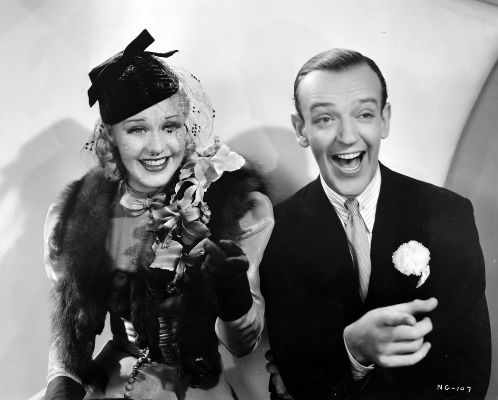Ginger Rogers, Fred Astaire, Swing Time