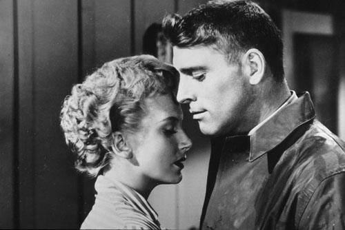 Deborah Kerr, Burt Lancaster in From Here to Eternity
