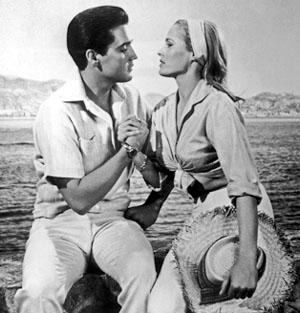 Elvis Presley, Ursula Andress in Fun in Acapulco