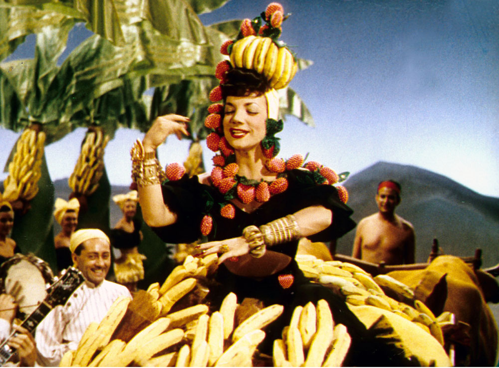 Carmen Miranda in The Gang's All Here