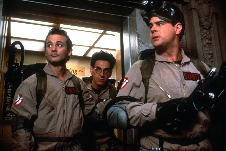 Bill Murray, Harold Ramis, Dan Aykroyd in Ghostbusters