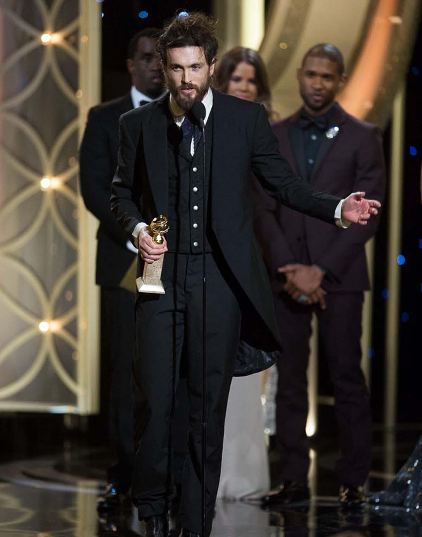 Golden Globes Alex Ebert