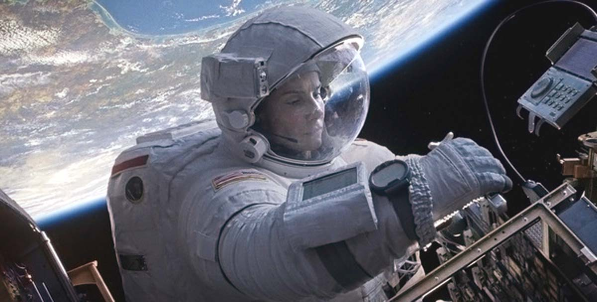 Gravity movie Sandra Bullock