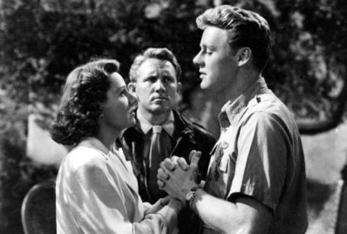 Irene Dunne, Spencer Tracy, Van Johnson in A Guy Named Joe