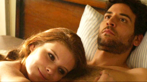 Kate Mara, Josh Radnor in Happythankyoumoreplease