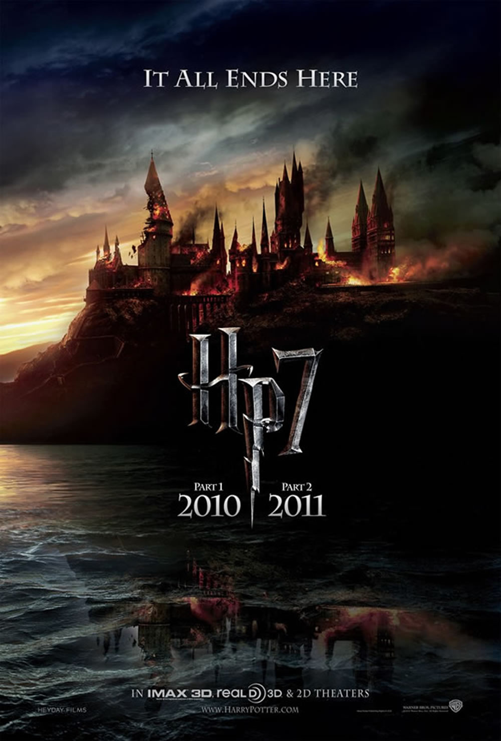 Harry Potter and the Deathly Hallows teaser poster