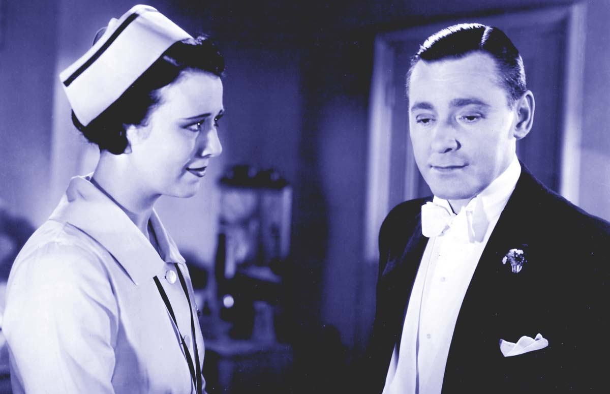 Herbert Marshall Bess Flowers movie extra Forgotten Faces