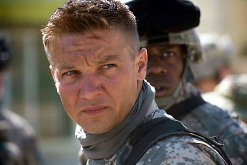 Jeremy Renner, Anthony Mackie in The Hurt Locker