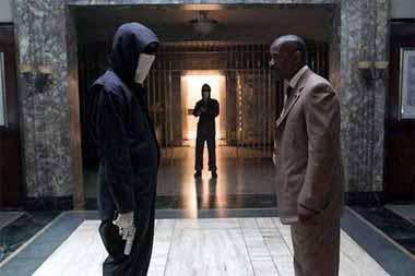 Inside Man (2006) directed by Spike Lee, starring Denzel Washington, Clive Owen, Jodie Foster