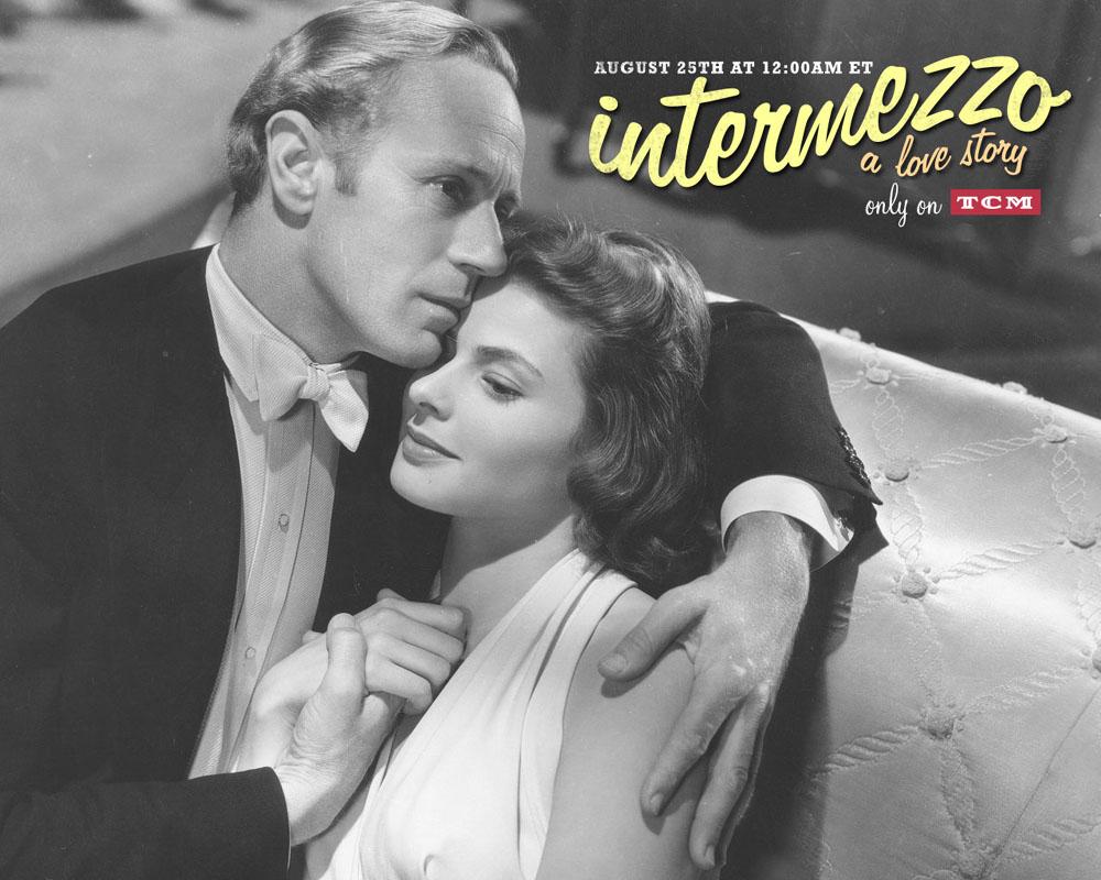 Leslie Howard, Ingrid Bergman, Intermezzo
