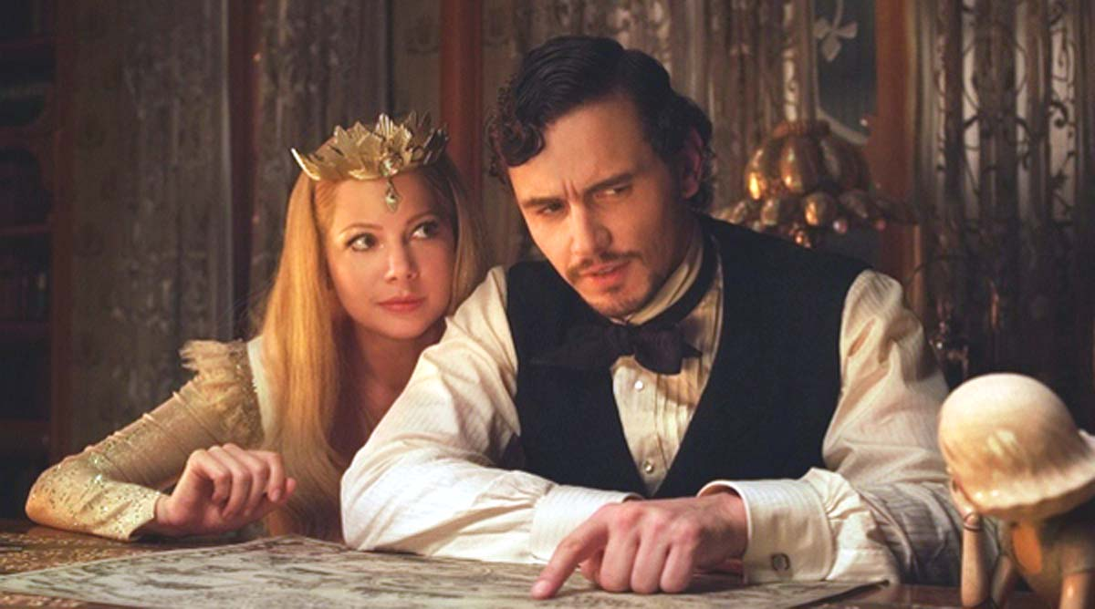 James Franco Oz the Great and Powerful Michelle Williams Fairy Glinda