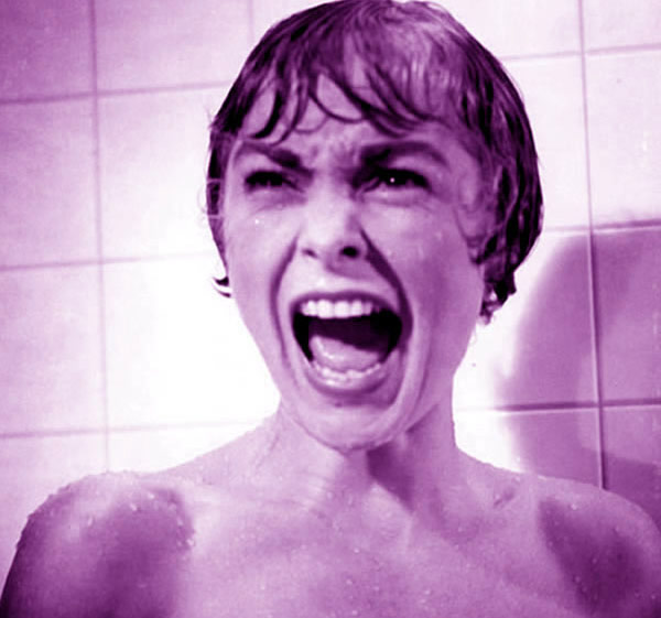 Janet Leigh Psycho shower scene