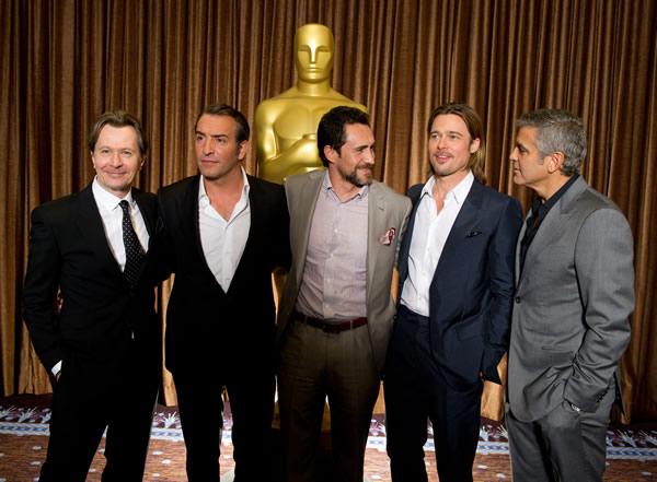 Gary Oldman, Jean Dujardin, Demián Bichir, Brad Pitt, George Clooney