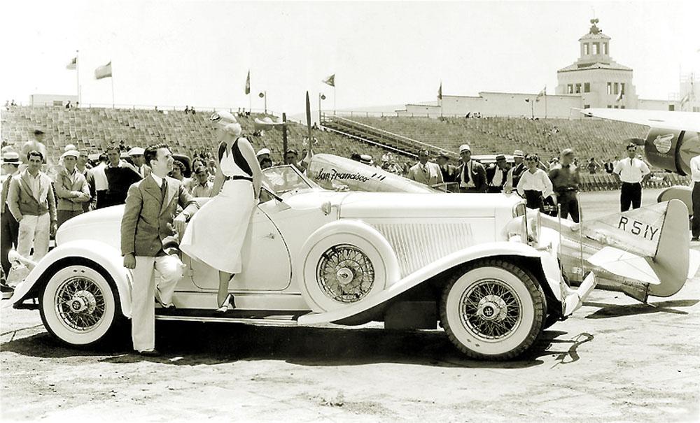 Jean Harlow air races