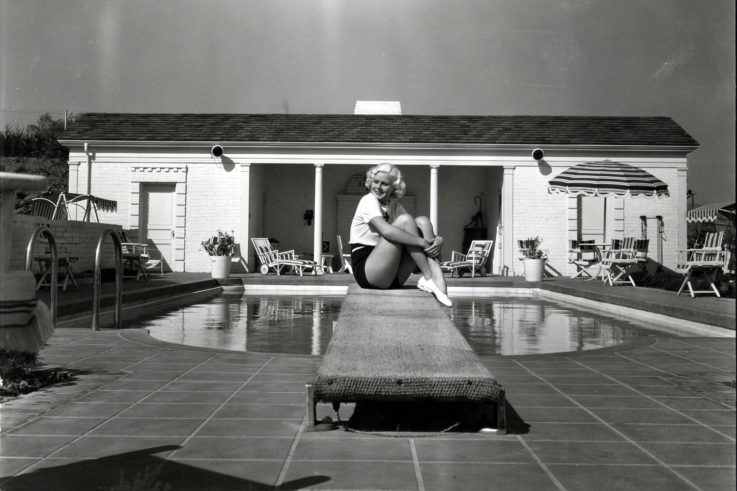 Jean Harlow, Beverly Glen Home