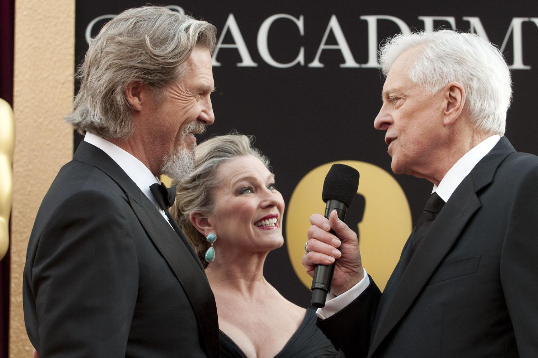 Jeff Bridges, Susan Bridges, Robert Osborne