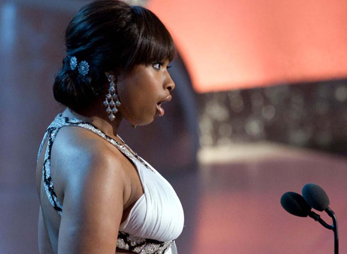 Jennifer Hudson American Idol at the Oscars