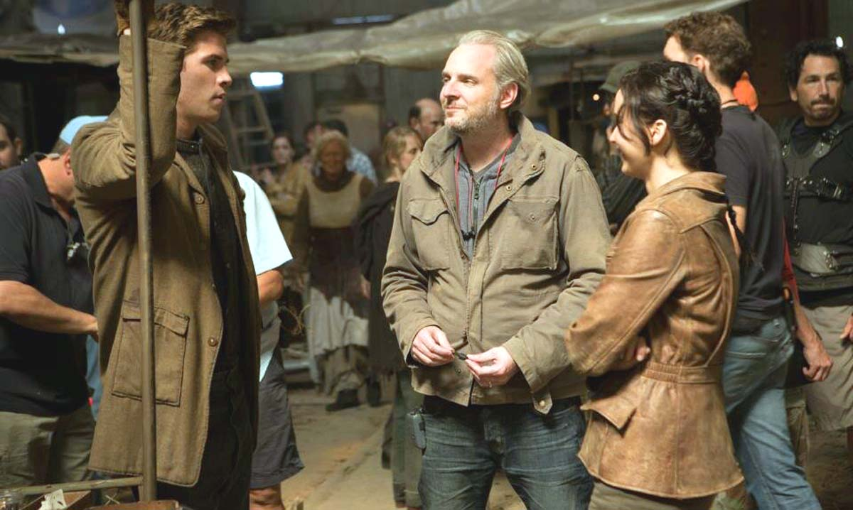 Jennifer Lawrence Catching Fire Liam Hemsworth Francis Lawrence