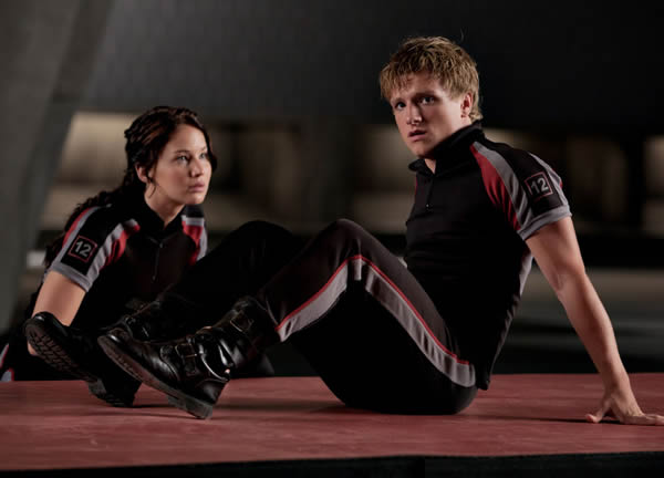 Jennifer Lawrence The Hunger Games Josh Hutcherson