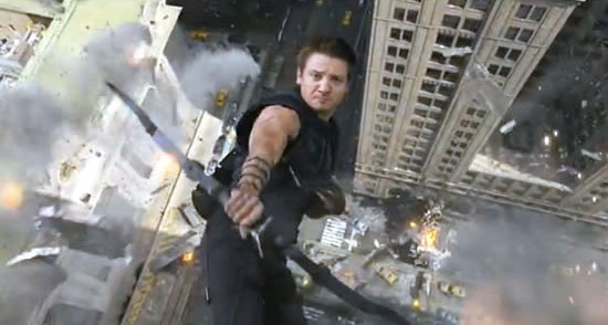 Jeremy Renner Hawkeye, The Avengers