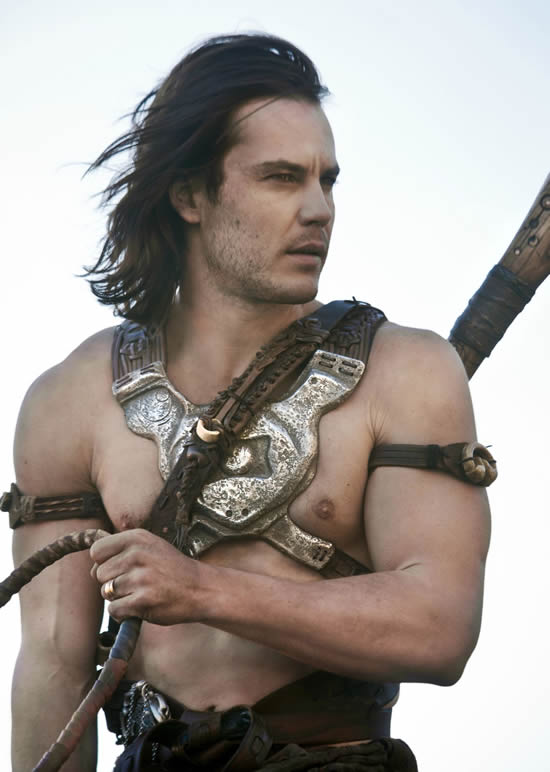 Taylor Kitsch shirtless John Carter movie