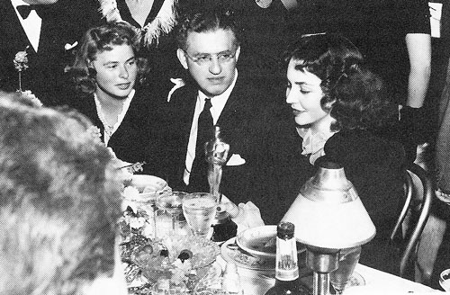 Ingrid Bergman, Jennifer Jones, David O. Selznick