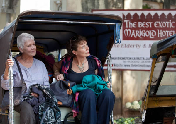 Judi Dench The Best Exotic Marigold Hotel Celia Imrie