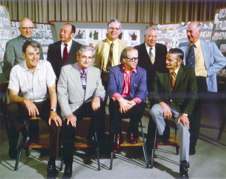 Milt Kahl, Marc Davis, Frank Thomas, Eric Larson, Ollie Johnston