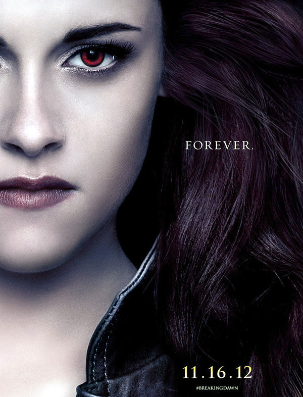 Kristen Stewart Breaking Dawn - Part 2 poster Bella Swan vampire